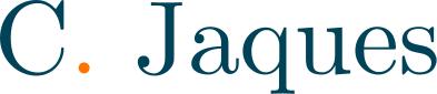 C. Jaques